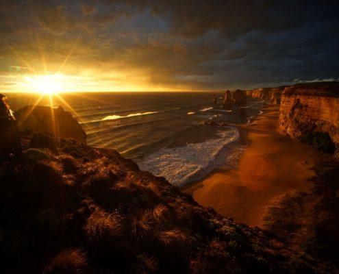 fiery-sunset-12-apostles