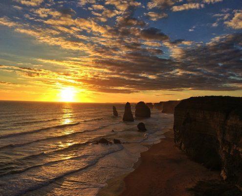 sunset-apostles